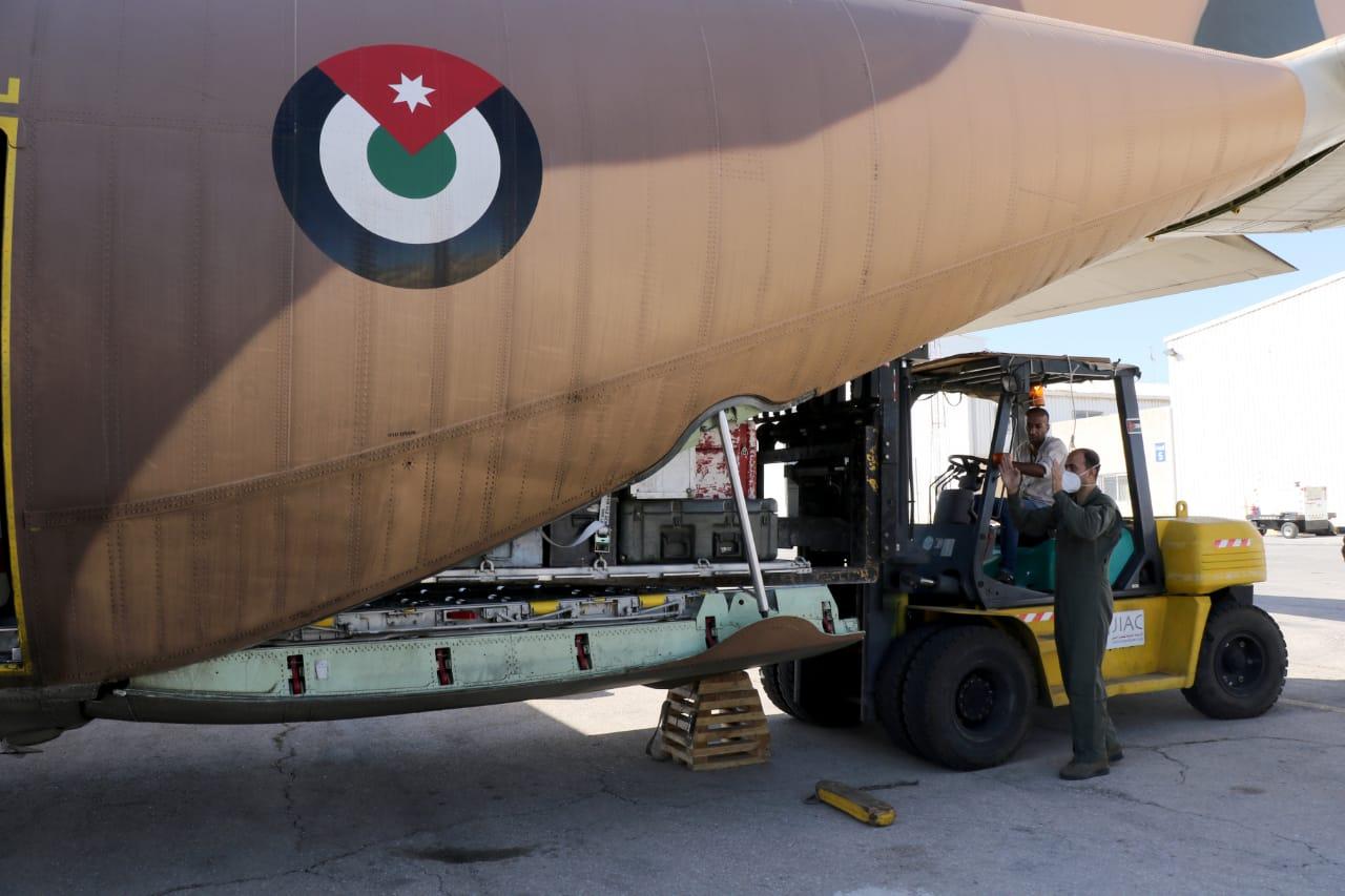 الهيئة الخيرية الاردنية الهاشمية تواصل إرسال مساعدات اغاثية إلى لبنان