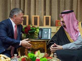 جلالة الملك عبدالله الثاني وخادم الحرمين الشريفين يتبادلان التهاني بحلول عيد الفطر