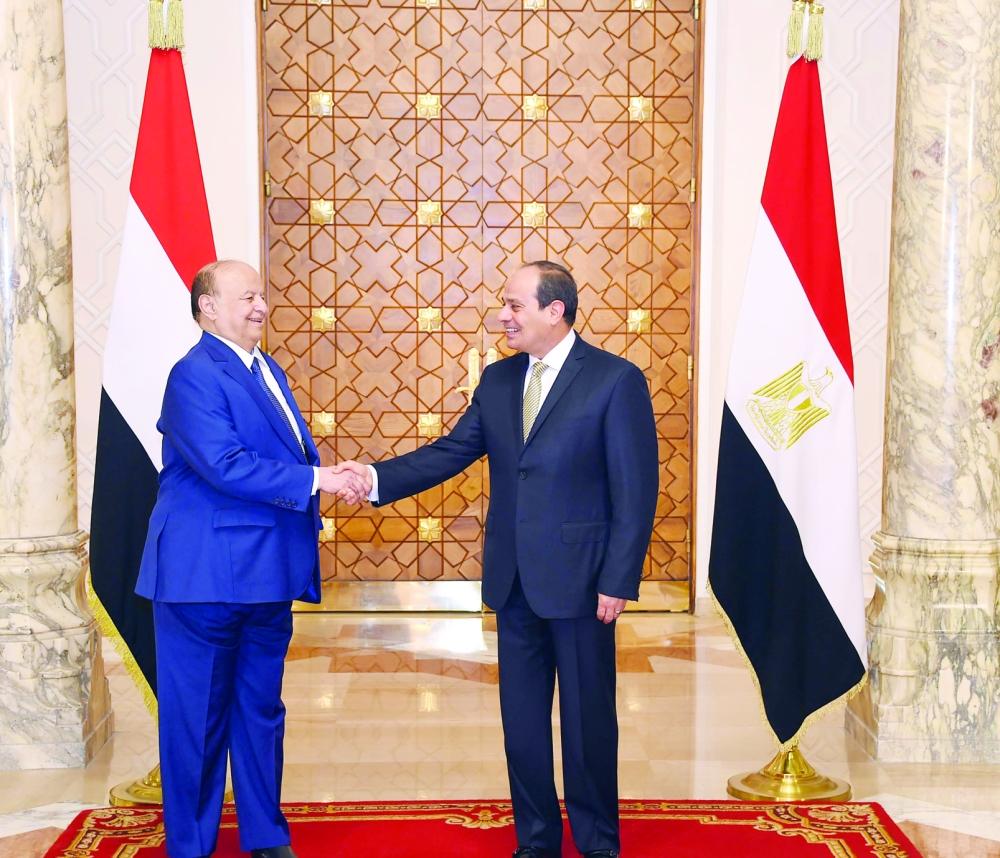 السيسي يرفض تحويل اليمن منصة لتهديد البحر الأحمر