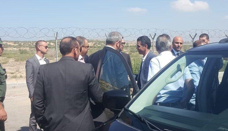 وفد أمني مصري ثان يصل إلى غزة تمهيدا لزيارة عباس كامل