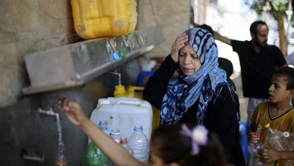 اليونيسيف: 4% من مياه غزة صالحة للاستعمال الأدمي