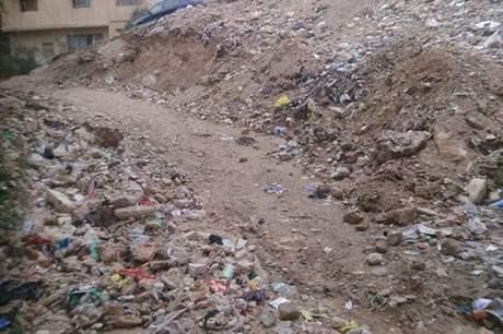 تراكم النفايات في المنطقة التاسعة بالزرقاء ...