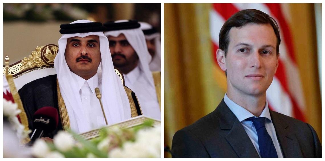"""""""نيويورك تايمز"""": عقد صفقة بين قطر وعائلة """"كوشنر"""""""