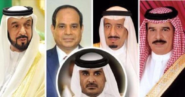 """""""عكاظ"""": استئصال قطر من """"مجلس التعاون"""" إذا لم تمتثل للمطالب"""