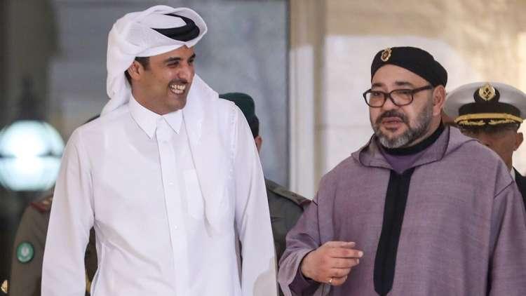 مستشار الملك المغربي ينفي رفع محمد السادس شعارا مؤيدا لتميم