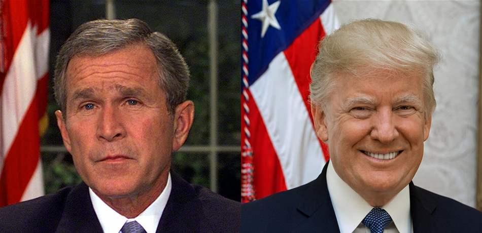 ترامب: بوش الإبن ارتكب أسوأ خطأ في تاريخنا بتدخله في شؤون الشرق الأوسط!