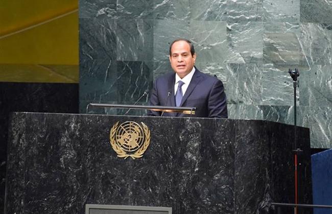 الرئيس السيسي يتوجه إلى نيويورك للمشاركة في أعمال الجمعية العامة للأمم المتحدة
