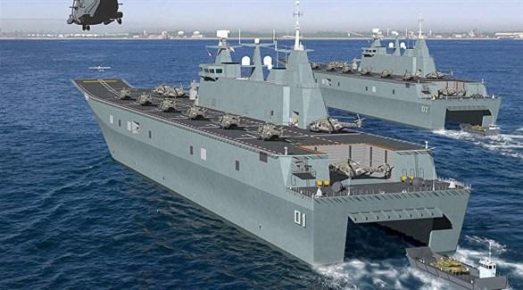 تدريب عسكري مشترك بين مصر واليونان وقبرص في البحرالمتوسط