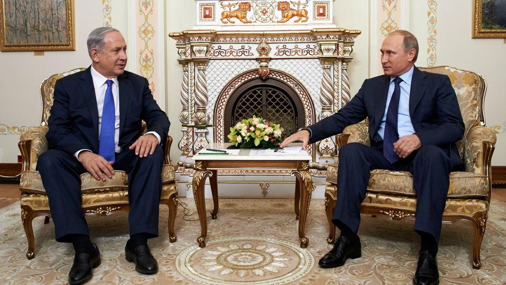 بالتزامن مع زيارة ولايتي..نتن ياهو يلتقي بوتين في موسكو للمرة الثالثة خلال 6 أشهر