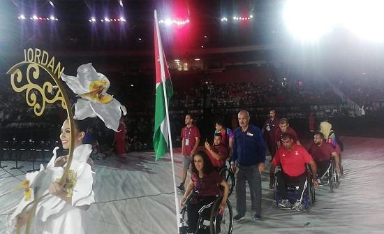 الأردن يشارك في افتتاح دورة الألعاب البارالمبية الآسيوية