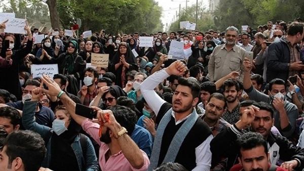 مظاهرة في طهران تطالب بوقف التدخل الإيراني في سوريا