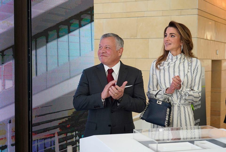 الملك يفتتح المقر الجديد لأكاديمية الملكة رانيا