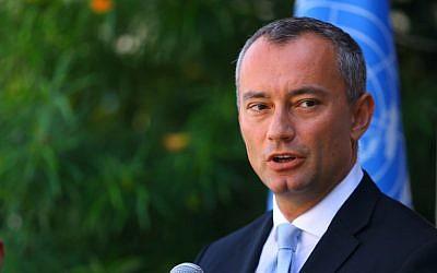 ملادينوف: فرص التصعيد في غزة كبيرة جداً.. ومن المحظور التخلي عن عملية السلام