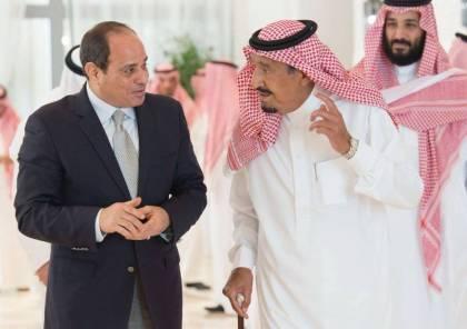 الرئيس عبد الفتاح السيسي يلتقي العاهل السعودي في نيوم