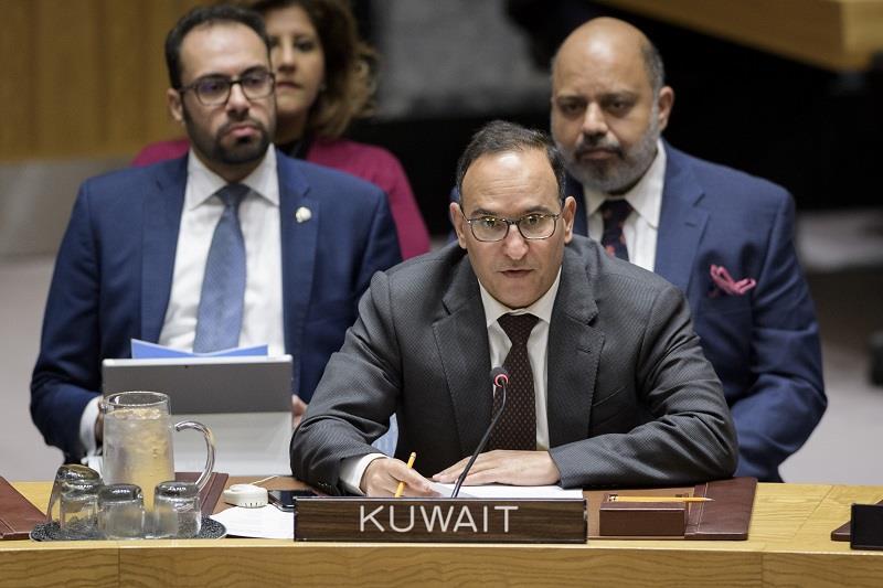 """الكويت تطالب """"مجلس الأمن"""" بعدم التدخل في شؤون السودان"""