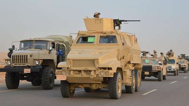 """البيان الخامس لعملية """"سيناء-2018"""": تصفية 12 مسلحا وتدمير 60 هدفا"""