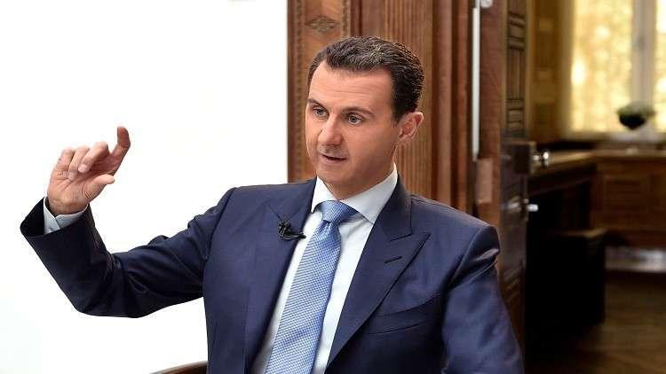 الأسد مستعد لتنظيم انتخابات على أساس تعدد الأحزاب