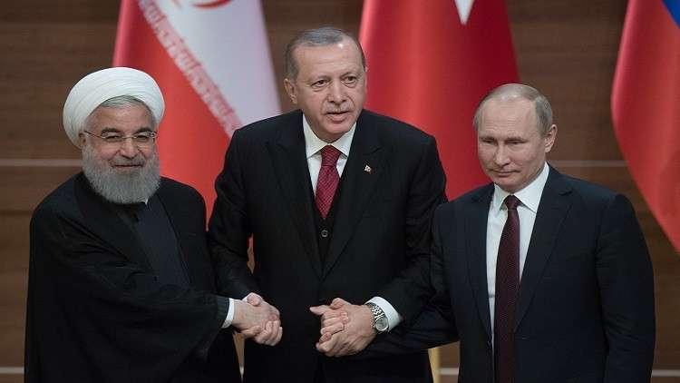 الإعداد لقمة روسية تركية إيرانية مطلع الشهل المقبل للتسوية السورية