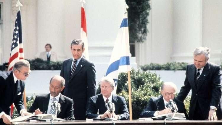 مصر تفرج عن وثيقة وقعت في كامب ديفيد بشأن حكم ذاتي كامل للفلسطينيين في الضفة وغزة