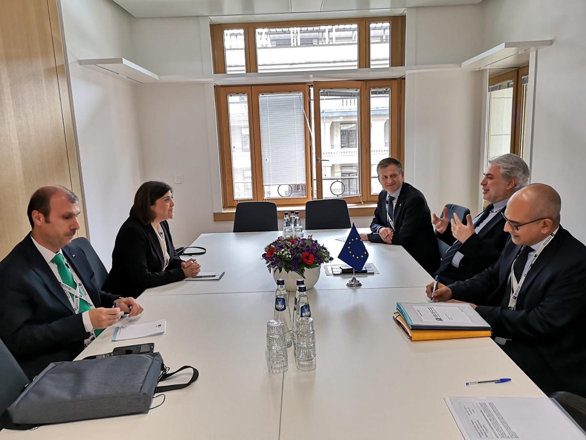 وزيرة التخطيط والتعاون الدولي تشارك بجلسات مؤتمر بروكسل الثالث