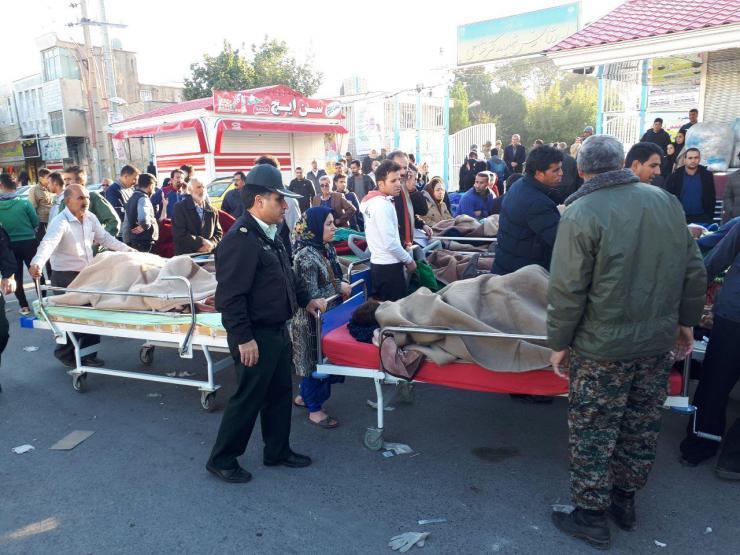 """ارتفاع عدد ضحايا زلزال إيران إلى 207 قتلى ومئات الجرحى..و """"كرمنشاه """" تعلن الحداد"""