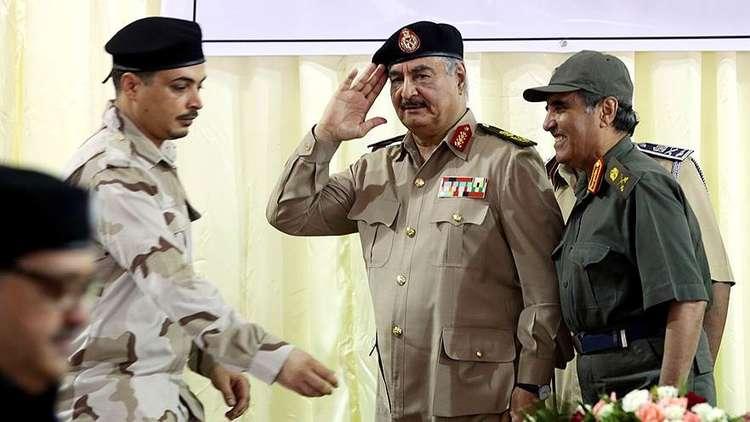المشير حفتر: لا علاقة للجيش الليبي بالاشتباكات في طرابلس وسنتحرك في الوقت المناسب