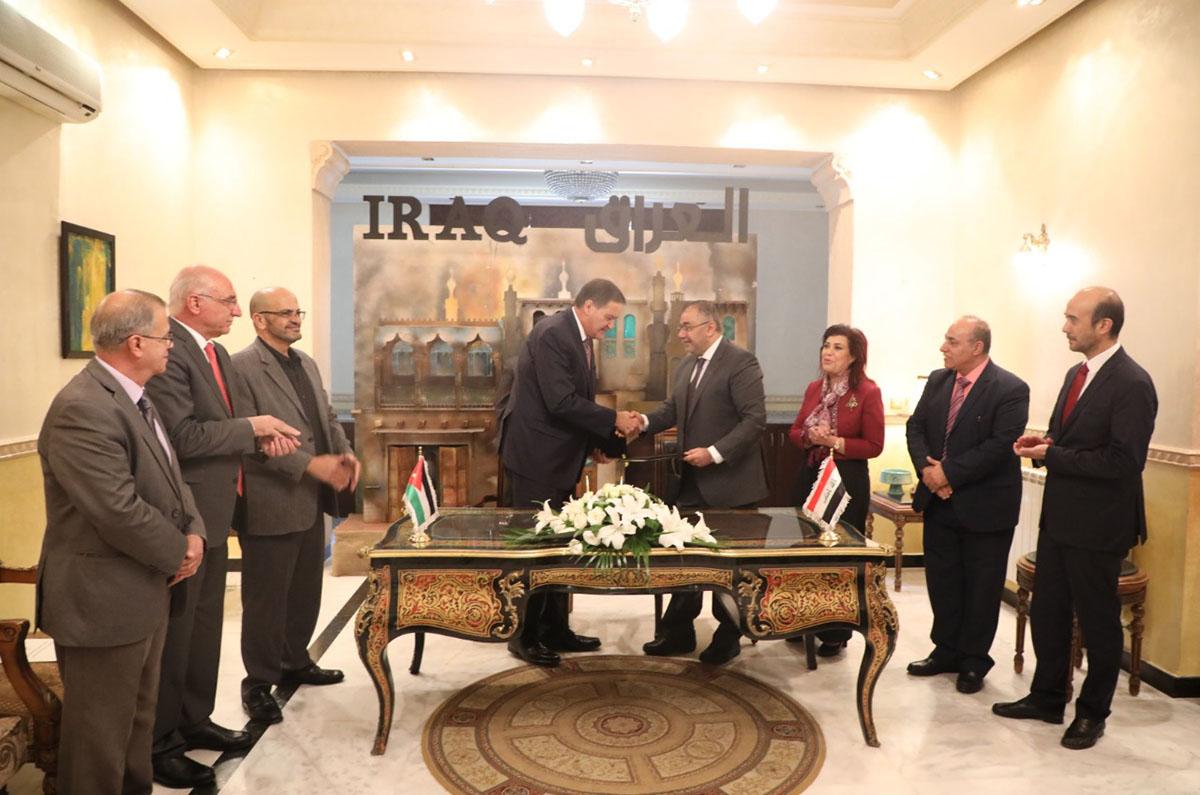 الأردن والعراق يوقعان بروتوكول تعاون للاستخدامات السلمية للطاقة الذرية