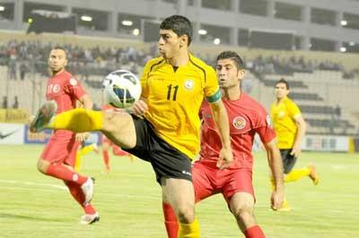 أربيل العراقي يرد على شباب الأردن بثلاثية