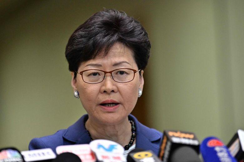 هونغ كونغ: رئيسة الوزراء تصعيد العنف لن يحل المشاكل الاجتماعية