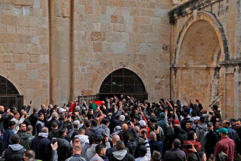 القدس: فتح مبنى باب الرحمة المغلق منذ عام 2003