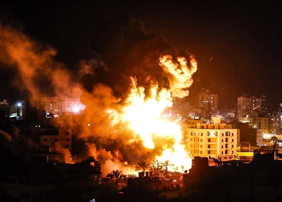 10 شهداء و 45 إصابة حصيلة التصعيد الإسرائيلي على قطاع غزة