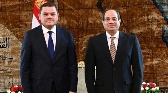 السيسي يستقبل رئيس حكومة الوحدة الوطنية الليبية