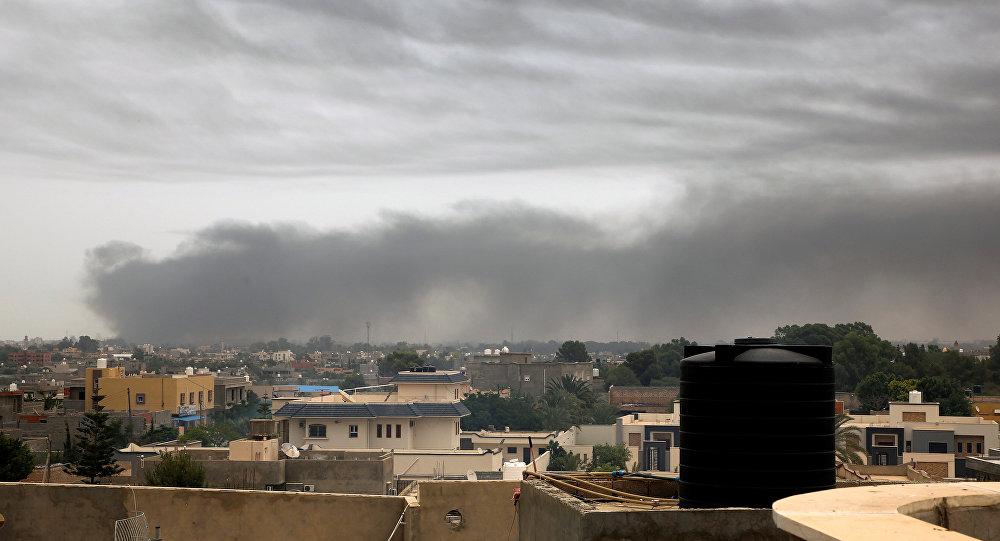 """مصدر عسكري: مقتل 8 جنود من الجيش الليبي في """"غارة تركية"""" وإسقاط طائرة"""