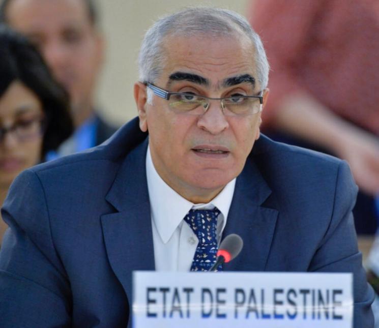 السفير خريشي: الحصار الجائر المفروض على قطاع غزة يرقى الى مستوى العقاب الجماعي