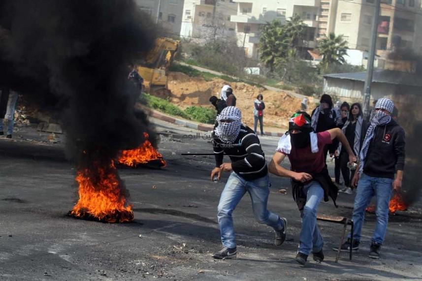 """حصيلة نهائية لـ""""جمعة الغضب السادسة"""" في مواجهات الضفة وغزة"""