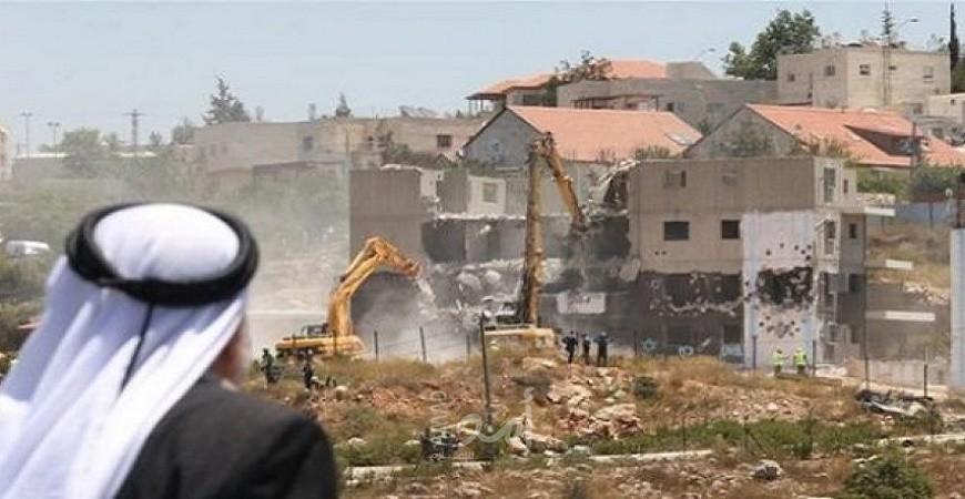 تقرير: سلطات الإحتلال الإسرائيلي تستولي على 2522 دونما من أراضي الضفة الغربية