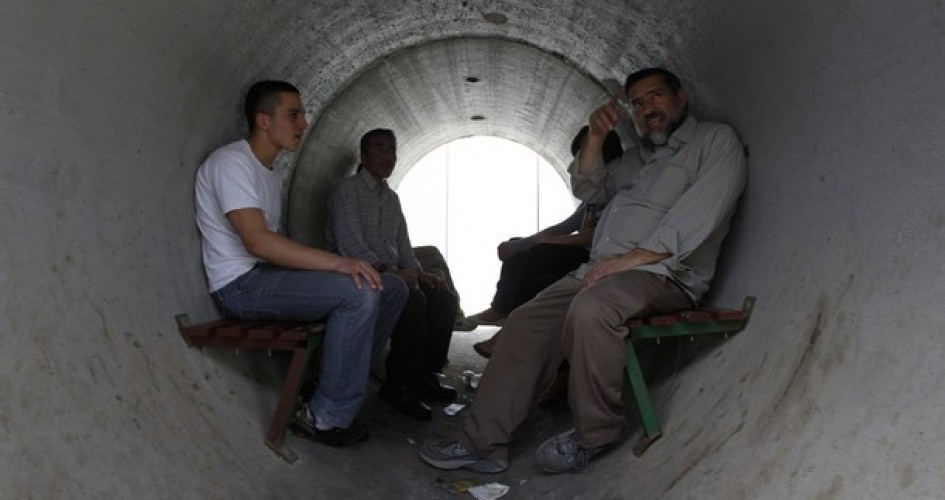 جيش الاحتلال الإسرائيلي يطالب المستوطنين بالبقاء قرب الملاجئ