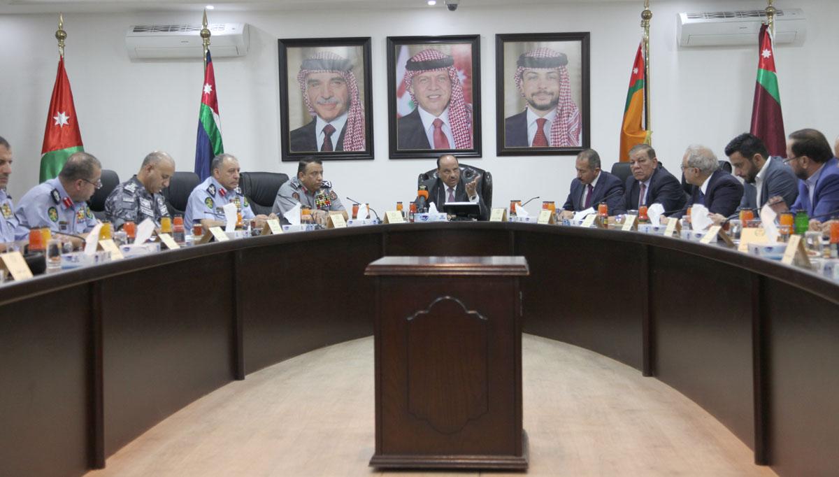 وزير الداخلية: سيتم التعامل مع شغب الملاعب بمنتهى الحزم ووفق احكام القانون