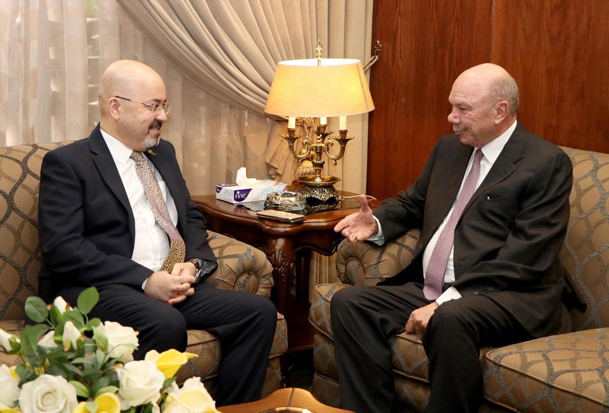 الفايز يؤكد حرص المملكة على أمن واستقرار العراق