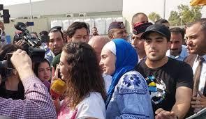 وصول المعتقلين المحررين إلى المدينة الطبية وحالتهما الصحية مطمئنة