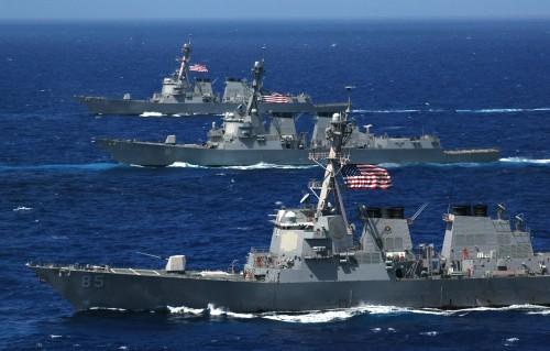 """الجيش الأمريكي يصدر بيانا عن """"عملية الحارس"""" البحرية في الخليج"""