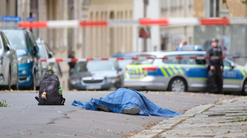 مقتل عدة أشخاص في إطلاق نار أمام معبد يهودي بمدينة هاله الألمانية