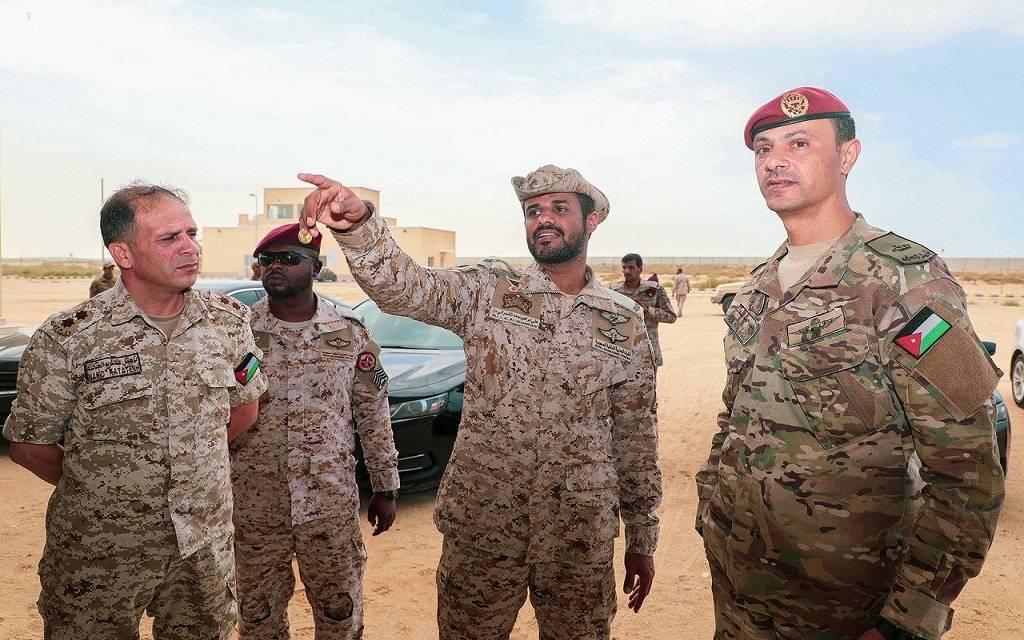 الأردن والسعودية تجريان تمرين عسكري بحري مشترك