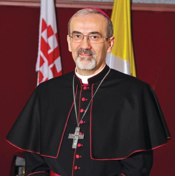 تعيين رئيس الأساقفة بييرباتيستا بيتسابالا بطريركًا جديدًا للبطريركية اللاتينية في القدس
