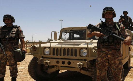"""""""الجيش"""" يقبض على شخص حاول التسلل الى الاردن من سوريا"""