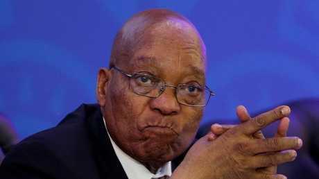""".""""المؤتمر الوطني"""" الحاكم يعزل زوما من رئاسة جنوب أفريقيا"""
