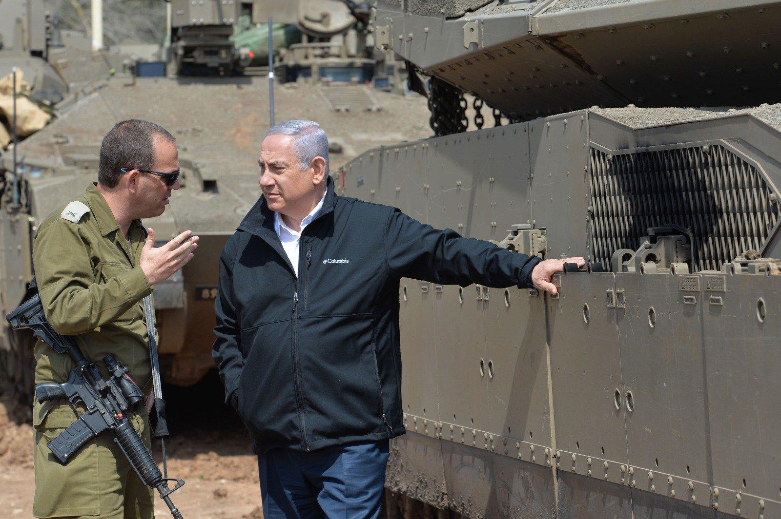 نتن ياهو: لا خيار من معركة واسعة في قطاع غزة وإسقاط حكم حماس بعد الاستعداد التام