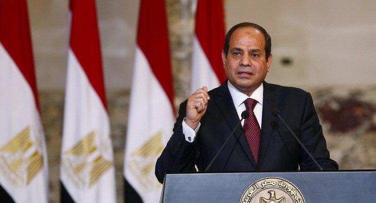 الرئيس السيسي:يعرب عن رفض مصر لقرار واشنطن بشأن القدس