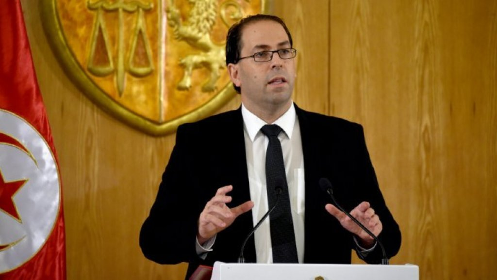 """رئيس الوزراء التونسي الشاهد يعلن مبادرة """"ميثاق الأخلاق السياسية"""" وخارطة طريق الحكومة لـ 6 أشهر"""