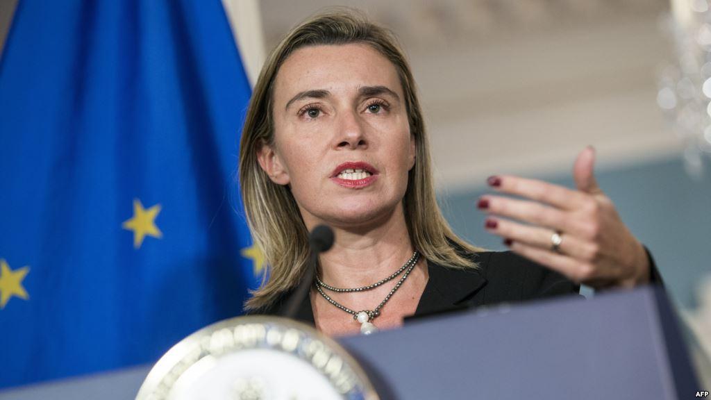 موغيريني: نريد تفعيل مفاوضات السلام في سوريا بعد الضربات